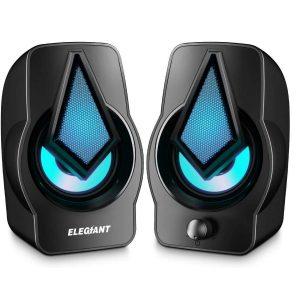 Altavoces para PC con iluminación LED