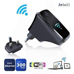 Amplificador wifi con tres modos