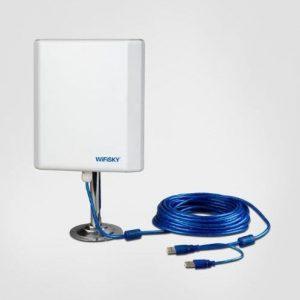 Antena wifi de fácil instalación