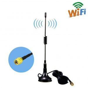Antena wifi doble banda de largo alcance