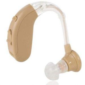 Audífono para sordos con amplificador
