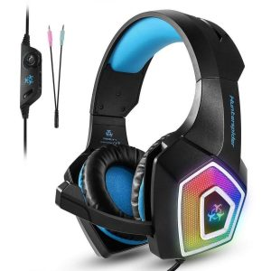 Auriculares gaming color azul