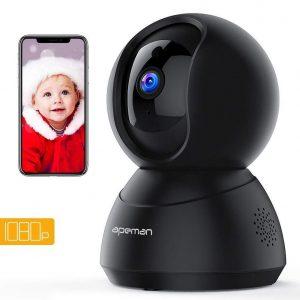 Cámara de vigilancia para bebés con control remoto