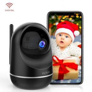 Cámara de vigilancia para bebés con LED