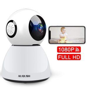 Cámara de vigilancia para bebés Full HD
