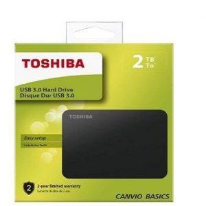 Disco duro externo 2TB Toshiba Canvio Basics