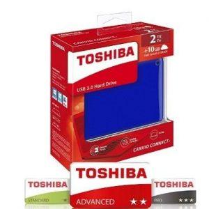 Disco duro externo 2TB Toshiba Canvio Connect II