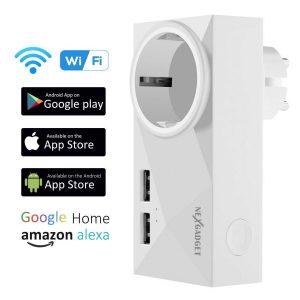Enchufe inteligente wifi con control remoto