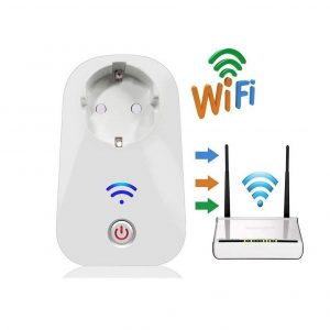 Enchufe inteligente wifi con sincronización