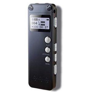 Grabadora de 8GB de hasta 145h de grabaciones