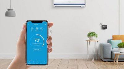 Guía para controlar un aire acondicionado con el móvil