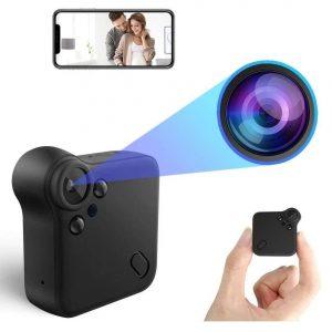 Mini cámara espía con gran angular