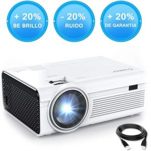 Proyector LED full HD compatible con HDMI