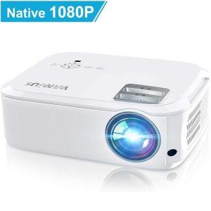 Proyector LED full HD para cine en casa