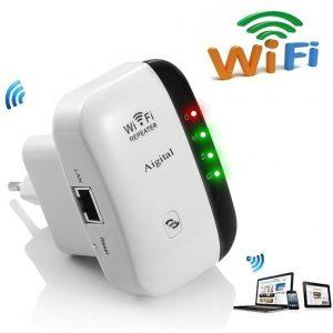 Repetidor wifi muy seguro