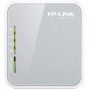 Router inalámbrico con diseño portátil