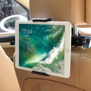 Soporte reposacabezas de tablet para coche