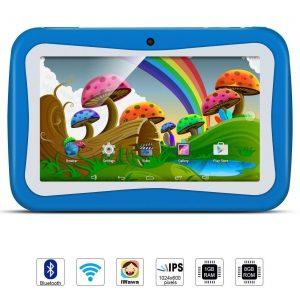 Tablet para niños con doble cámara