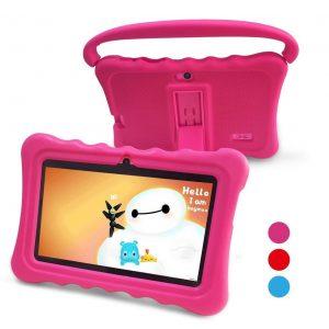Tablet para niños fucsia