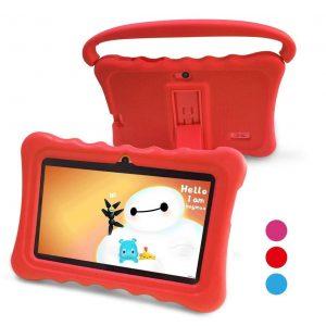 Tablet para niños roja