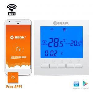 Termostato wifi LCD