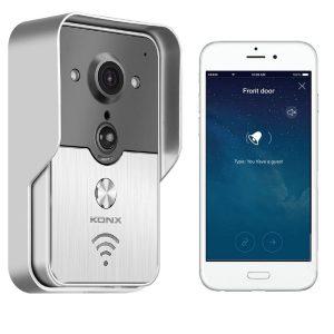 Videoportero wifi con microSD